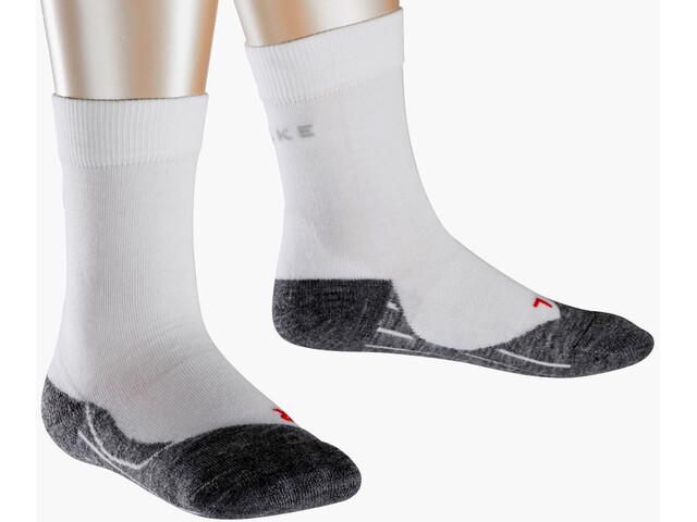 Falke RU4 Running Socks Kids white-mix